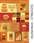chocolate retro labels...