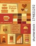 chocolate retro labels...