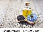 Black Cumin Oil With Flower...