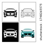 fast car symbol presented as... | Shutterstock .eps vector #1748265575