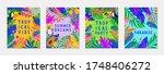 set of summer vector... | Shutterstock .eps vector #1748406272