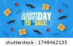 Fathers Day Sale Banner  Poste...