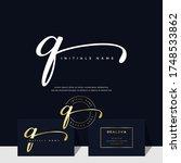 simple elegant initial...   Shutterstock .eps vector #1748533862