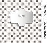 paper label in vintage style... | Shutterstock . vector #174857702