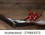 Double Shotgun And Cartridges