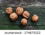 walnut | Shutterstock . vector #174875222