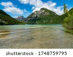 Panoramic View In A Summer Day...