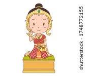 Cartoon Character Of Nang Kwak...