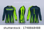 t shirt sport design template ...   Shutterstock .eps vector #1748868488