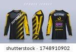 t shirt sport design template ... | Shutterstock .eps vector #1748910902