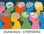 concept of the diversity of...   Shutterstock .eps vector #1748938352