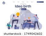 idea birth landing page with...