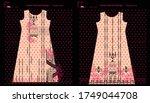 modern salwar kameez artwork... | Shutterstock .eps vector #1749044708