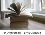 Stack Of Unrecognizable Books...