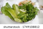 vegetables in bowl  vegan ... | Shutterstock . vector #1749108812