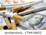 Cigarettes And Dollar As...
