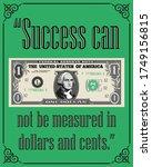 Motivational Poster. Success...