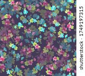 complex multi layered floral... | Shutterstock .eps vector #1749197315