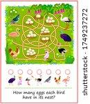 math education for children.... | Shutterstock .eps vector #1749237272