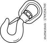 Swivel Hook With Safety Catch....