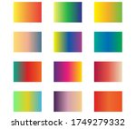 vector set of colorful ui...