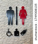 Toilet Sign  Symbol Icon  For...