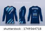 t shirt sport design template ...   Shutterstock .eps vector #1749364718