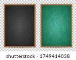 blackboard for design menu cafe ... | Shutterstock .eps vector #1749414038
