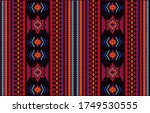 ethnic ornament for fabrics ... | Shutterstock .eps vector #1749530555