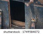 Metal Handle Inside Cabin Of...