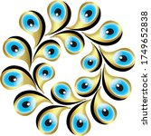 different patterns created from ...   Shutterstock .eps vector #1749652838