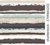 Stripe Pattern  Coffee Brown...