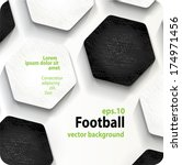 football  soccer  vector... | Shutterstock .eps vector #174971456