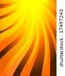 sun ray background design. | Shutterstock .eps vector #17497243