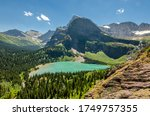 Grinnell Lake In Glacier...