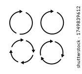vector illustration of circle...   Shutterstock .eps vector #1749839612