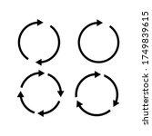vector illustration of circle...   Shutterstock .eps vector #1749839615