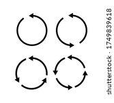 vector illustration of circle...   Shutterstock .eps vector #1749839618