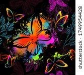 Flying Butterflies In...