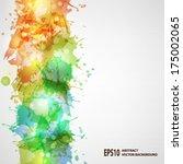 vector blots background   Shutterstock .eps vector #175002065