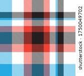 orange plaid  checkered  tartan ... | Shutterstock .eps vector #1750049702