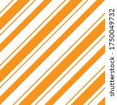 orange diagonal striped... | Shutterstock .eps vector #1750049732