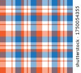 orange plaid  checkered  tartan ... | Shutterstock .eps vector #1750054355