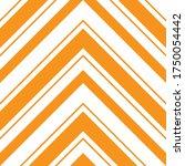 orange chevron diagonal striped ... | Shutterstock .eps vector #1750054442