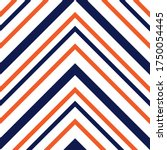 orange chevron diagonal striped ... | Shutterstock .eps vector #1750054445