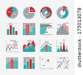 infographic elements for...   Shutterstock . vector #175013078