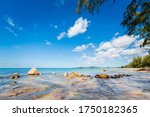 Summer Seascape On Tropical Phu ...