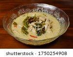 Indonesian traditional cuisine, young jackfruit vegetable (sayur nangka)