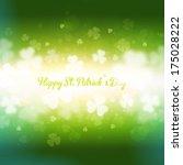 st patricks day background | Shutterstock .eps vector #175028222