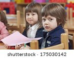 kindergarten activity | Shutterstock . vector #175030142